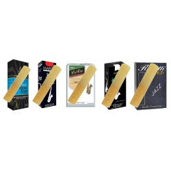 Pack Selection Jazz Anche Saxophone tenor