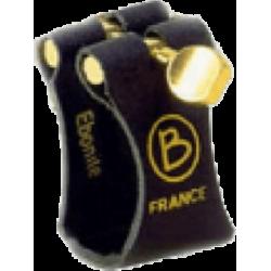 Ligature Saxophone Soprano BRANCHER S-Rigide SHR pour bec ebonite