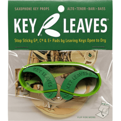 Keyleaves pour tampons saxophone