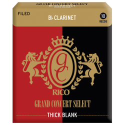 Anche Clarinette Sib Rico grand concert select thick blank force 2 x10