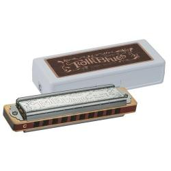 Harmonica Folk Blues MKII Tombo 1210 Lab majeur