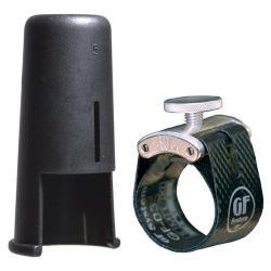 Ligature et couvre Bec GF-Maxima Silver GF-System MX-08M saxophone alto