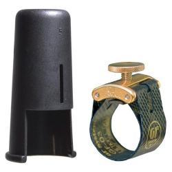 Ligature et couvre Bec GF-Maxima Or GF-System MX-06M clarinette Mib / Eb