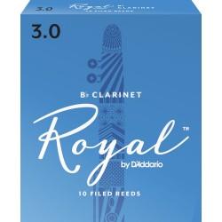 Anche Clarinette Sib Rico D'Addario royal force 3 x10