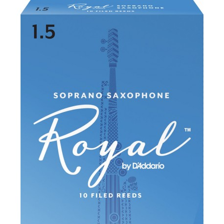 Anche Saxophone Soprano Rico royal force 1.5 x10