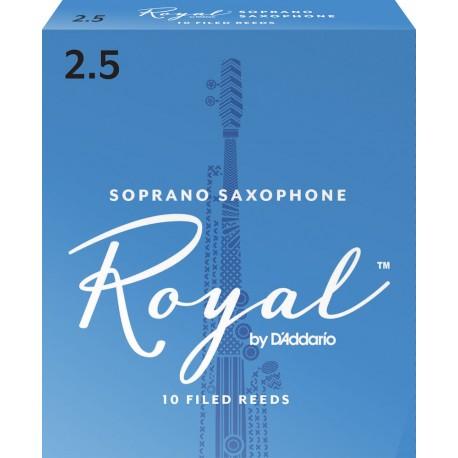 ボックスの10芦サクソフォンソプラノリコロイヤル強度2.5