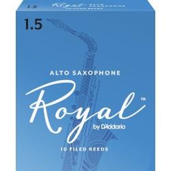 Anche Saxophone Alto Rico D'Addario Royal mib/eb force 1.5 x10