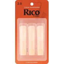 Mundstück Tenor Saxophon Rico orange stärke 2-schnitt-amerikanische x3