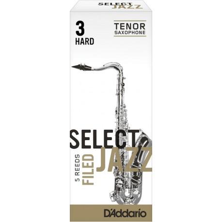 Anche Saxophone Ténor Rico d'addario jazz s force 3h hard filed x5