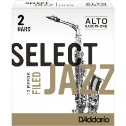 Anche Saxophone Alto Rico D'Addario Jazz force 2h hard filed x10