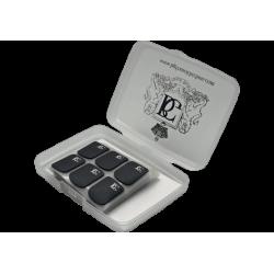 48 pastilles protège bec BG Noir Epaisseur 0.8mm large