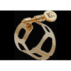 Abrazadera bg tradición saxofón alto chapado en oro