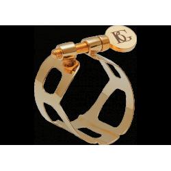 Abrazadera bg tradición saxofón barítono chapado en oro
