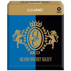 Anche Clarinette Mib Rico grand concert select force 4 x10