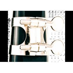 La ligadura de níquel-plateado clarinete sib apm