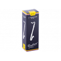 """Reed Bass Clarinet Vandoren """"traditional"""" force to 2.5 x5"""