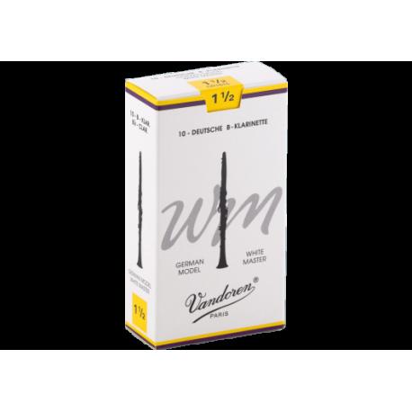 Anche Clarinette Allemande Vandoren white master force 1.5 x10