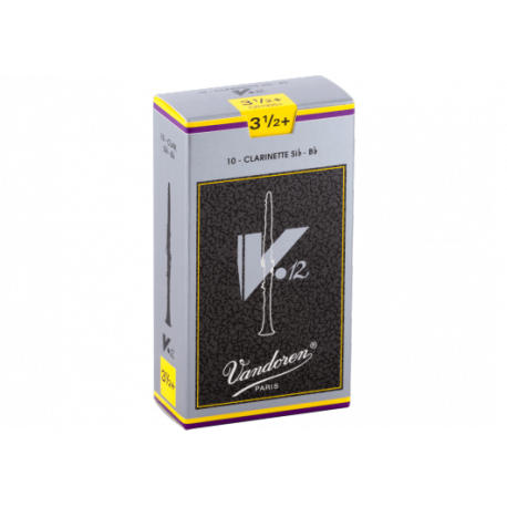 Mundstück Bb-Klarinette, Vandoren v12 stärke 3.5+ x10