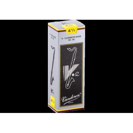 5芦Vandoren V12バスクラリネットの強度4.5