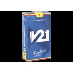 ボックスの10芦Vandoren V21クラリネットSib/Bb力3