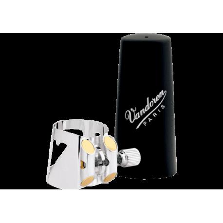 Ligature optimum vandoren clarinette sib / bb couvre bec plastique