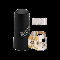 Ligature optimum vandoren clarinette basse couvre bec plastique