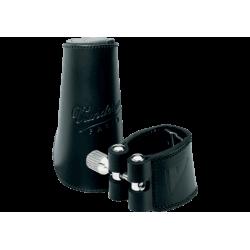 La ligadura de cuero vandoren clarinette sib / bb, y cubre el pico de cuero