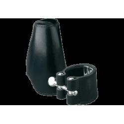 La ligadura de cuero vandoren clarinette mib / eb y cubre bec de cuero
