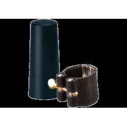 Ligation leather vandoren tenor saxophone and covers spout plastic
