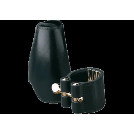 Ligature leder vandoren bariton-saxophon v16 schnabel