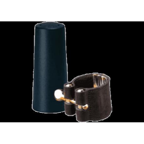 Ligation leather vandoren bec v16 baritone saxophone and covers spout plastic