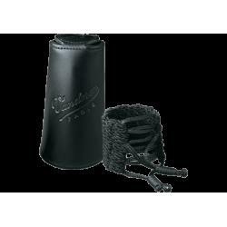 Ligature tressée Klassik Vandoren avec couvre bec pour clarinette Sib/Bb