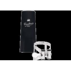Ligature m/o silver master / optimum vandoren clarinet mib
