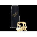 Ligature m/o dorée master / optimum vandoren saxophone soprano