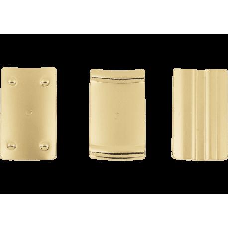 3 plaquettes de pression ligature saxophone alto et soprano optimum vandoren