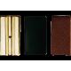 3 plaques de pression ligature cuir vandoren saxophone soprano