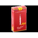 ボックスの10芦Vandoren Java赤いカットソプラノサックス、強度4