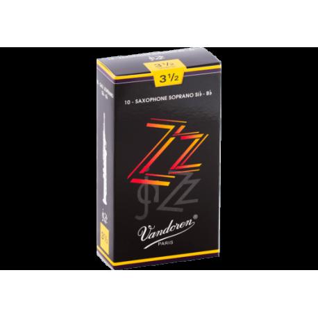 ボックスの10芦は、Vandoren ZZソプラノサックスの強度3.5