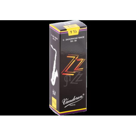 Reed Tenor Saxophone Vandoren zz strength 1.5 x5