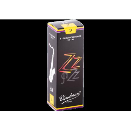 Reed Tenor Saxophone Vandoren zz strength 3 x5