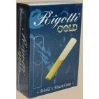 Caña Clarinete Bajo Rigotti oro clásico de fuerza 3.5 x10