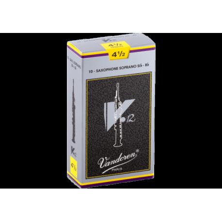 ボックスの10芦は、Vandoren V12ソプラノサックスの強度4.5