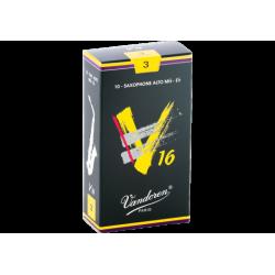 ボックスの10芦Vandoren V16alto Sax強度3