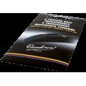6 pastillen transparent schützt-düsen 0.35 mm vandoren