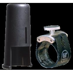 Ligature et couvre Bec GF-Maxima Silver GF-System MX-09M saxophone alto