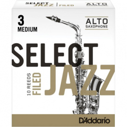 Anche Saxophone Alto Rico d'addario jazz force 3m medium filed x10