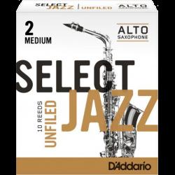Caña Saxo Alto Rico d'addario jazz fuerza 2m medio sin archivar x10