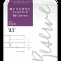 Anche Clarinette Sib Rico d'addario reserve classic strength 2.5 x10