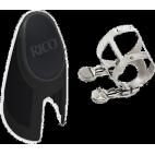 La ligadura rico d'addario clarinette mib / eb 4 puntos de contacto