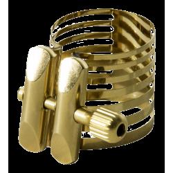 Ligature Saxophone Soprano Rovner PLATINUM GOLD PG-1RVS